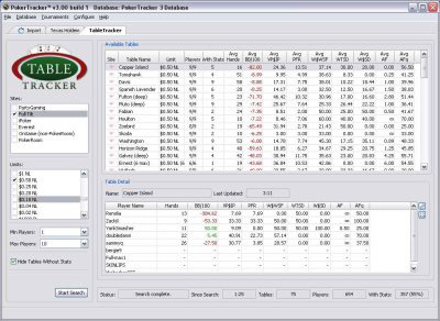 Покерный софт Poker Tracker 3.